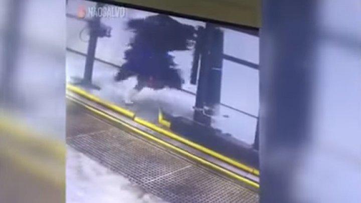 В Бразилии работника автомойки намотало на щетку
