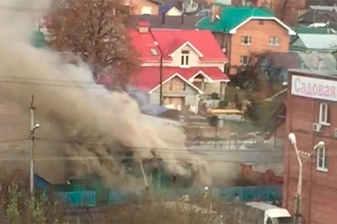 13-11-2017: Пожар в Центральном районе