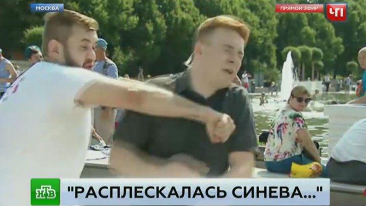 «Десантник», ударивший корреспондента НТВ, избил пермского журналиста: видео
