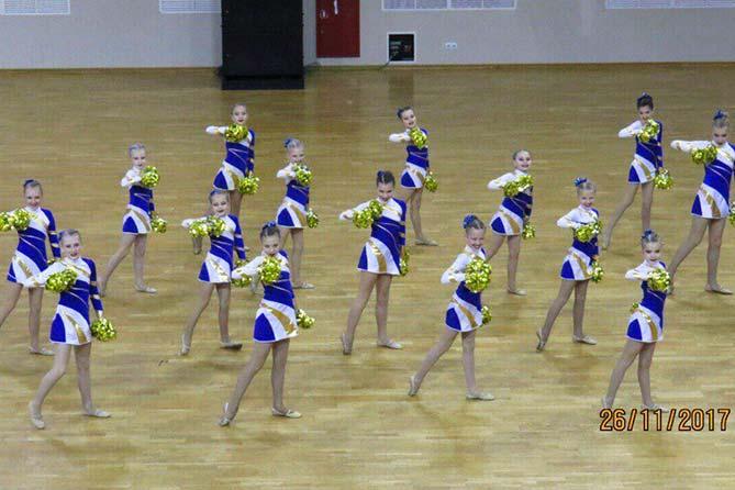 27-11-2017: Поздравляем спортсменок школы современной хореографии «Династия»!