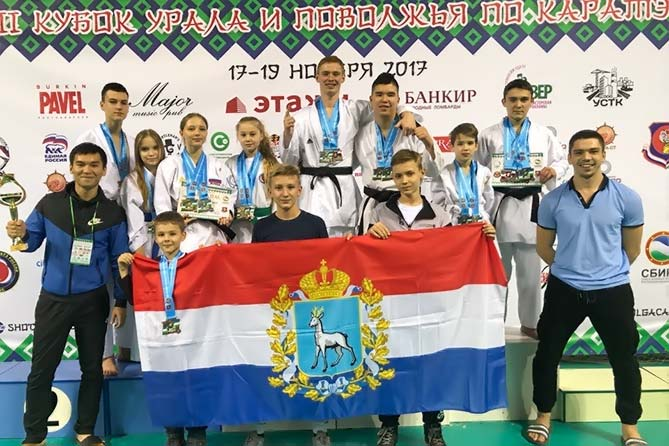 20-11-2017: Поздравляем спортсменов Поволжской Академии Боевых искусств!