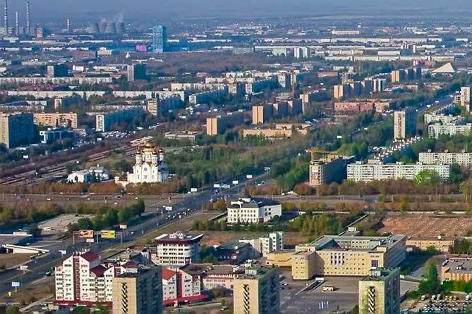 Экологический рейтинг российских городов 2017: Список