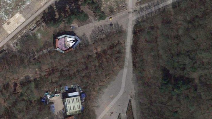 На карте Google Earth нашли спрятанный космический корабль из