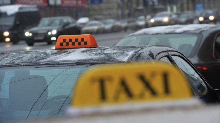 Кладбище такси в Москве сняли на видео