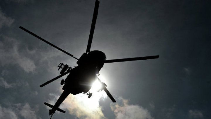 В Сети появилось видео падения вертолета Ми-24 в Сирии