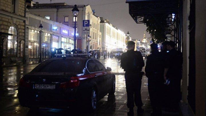 В Петербурге прогремел взрыв в магазине «Перекрёсток»