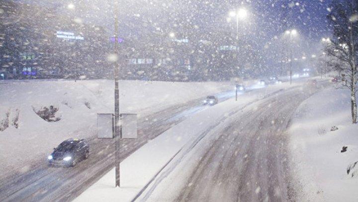 В Финляндии снегопад обесточил более 20 тысяч домов