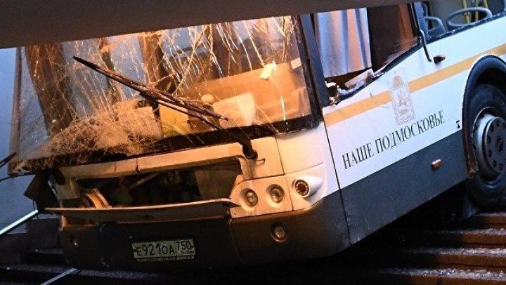 Водитель въехавшего в толпу автобуса рассказал свою версию произошедшего