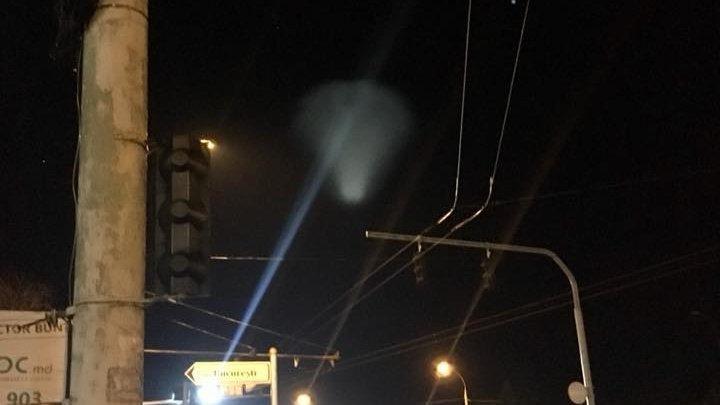 Российские СМИ объяснили появление НЛО в небе над Молдовой
