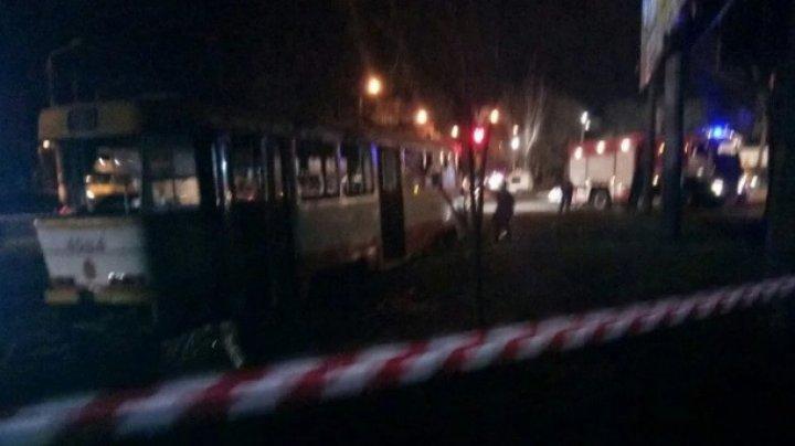 В Одессе загорелся трамвай, полный пассажиров: семеро пострадавших
