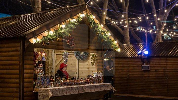 На рождественскую ярмарку привезли воспитанников интернатов
