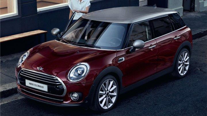 Автомобили Mini получат новый логотип с 2018 года