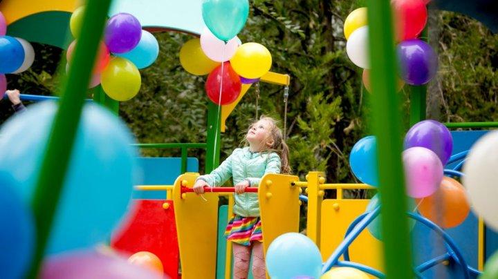 Детскую площадку открыли в селе Тигеч Леовского района в рамках проекта «Парки Эдельвейс»