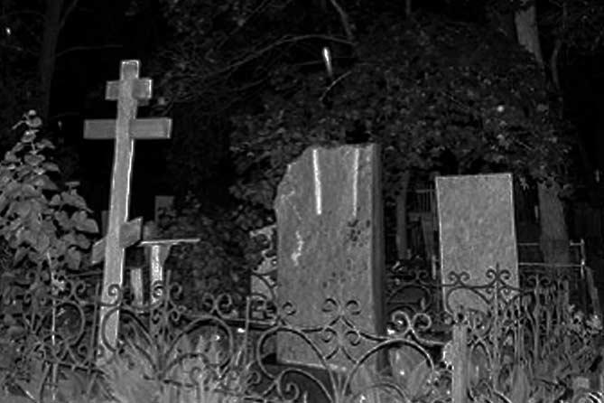 Ездил с малолетними детьми на кладбище