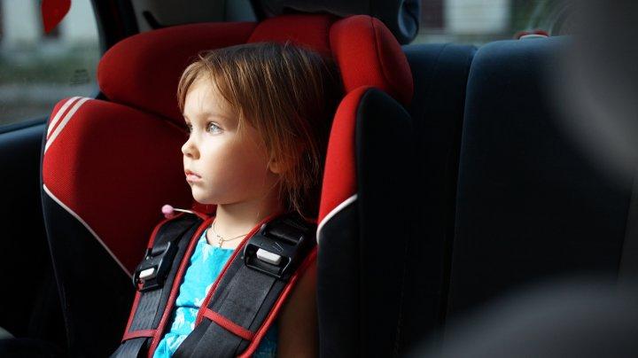 Дети осуществили хитрый план побега, пока отец вышел из машины в магазин
