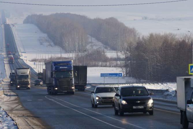 07-12-2017: Проезд по федеральным трассам Самарской области