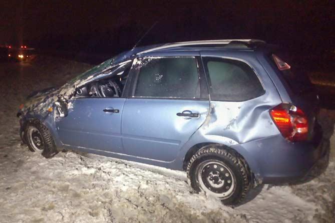13-12-2017: Мужчину, выжившего в ДТП, через несколько минут сбил автомобиль