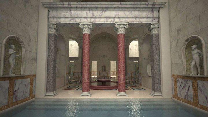Виртуальная реальность раскрыла великолепие древнеримских бань