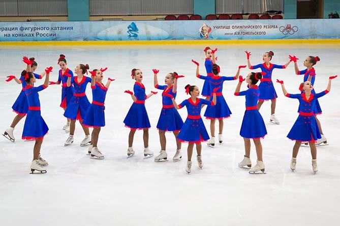 Приглашаем всех 8 и 9 декабря 2017 года на Всероссийские соревнования по синхронному катанию на коньках