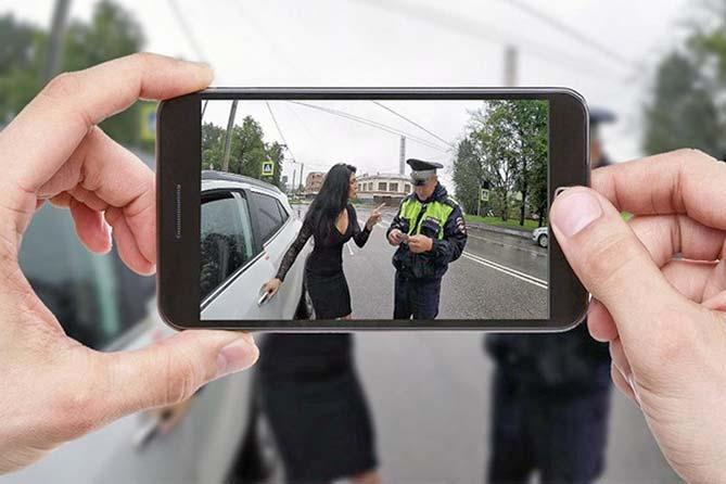Госавтоинспекция разъясняет: Фотовидеосъемка общения с инспекторами ДПС