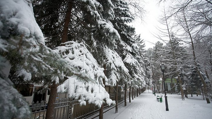 Молдову ожидает резкое похолодание и снег
