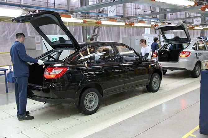 Из Ижевска в Тольятти: Производство Lada Granta лифтбек переносится