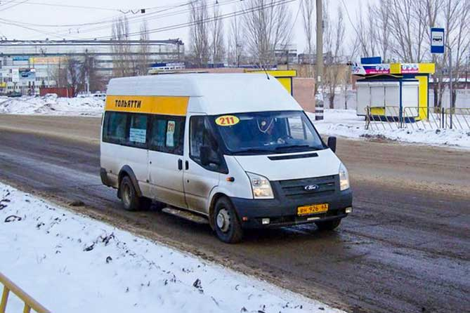 Транспорт в Тольятти в Новогоднюю ночь 2018