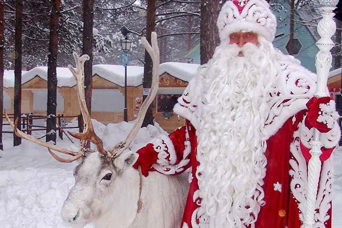 17-12-2017: Дед Мороз из Великого Устюга в Тольятти