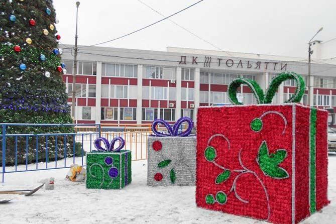 22-12-207: Тольятти украшают к праздникам