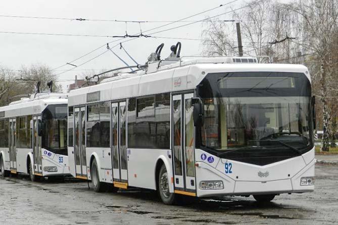 06-12-2017: В Тольятти поступило 22 новых троллейбуса