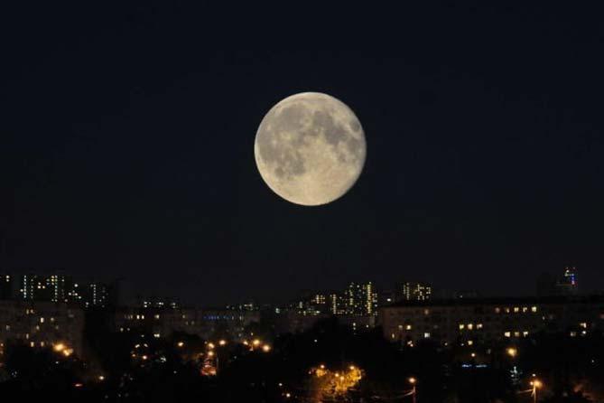 03-12-2017: Большая Луна в небе или Суперлуние