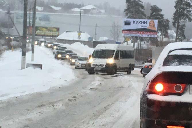 05-12-2017: Автомобильные пробки в Тольятти