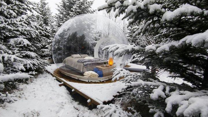 В Исландии открылась гостиница, построенная в форме воздушного шара