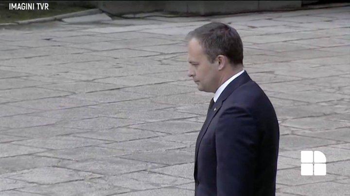 Делегация парламента Молдовы приняла участие в церемонии прощания с королём Михаем