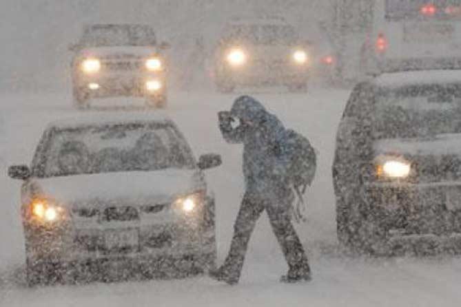Погода в Тольятти с 23 по 25 декабря 2017 года
