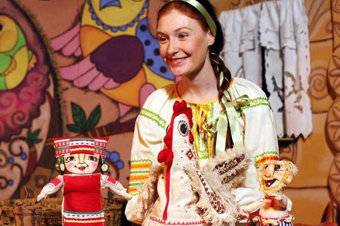 Премьера кукольного театра «Пилигрим»: «Про Курочку Рябу, яйцо золотое и счастье простое»