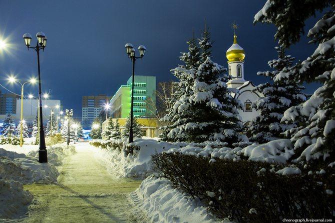 Погода в Тольятти с 16 по 18 декабря 2017 года