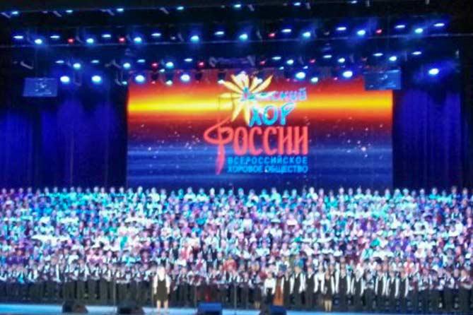 27-12-2017: Солисты хора мальчиков «Ладья» из Тольятти выступили в Кремле