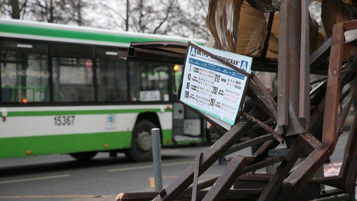 У снесшего остановку автобуса были исправные тормоза