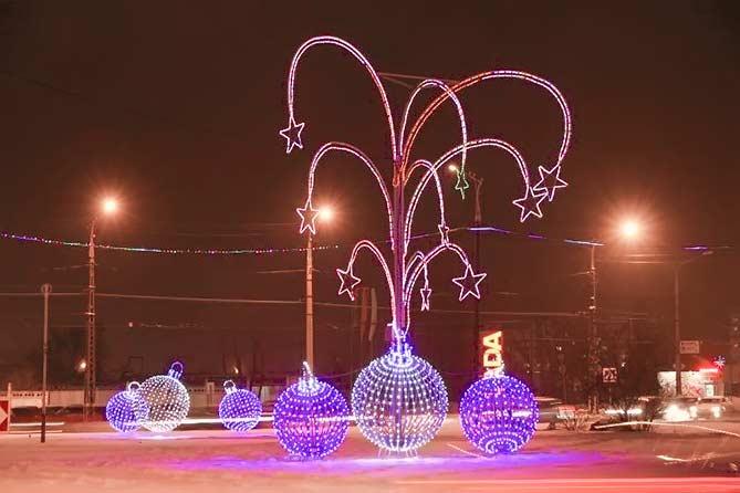 2017-2018: Новогоднее убранство Тольятти