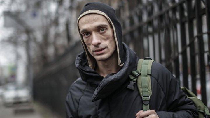 Русский художник, который поджёг Центральный банк Франции, объяснил свой поступок