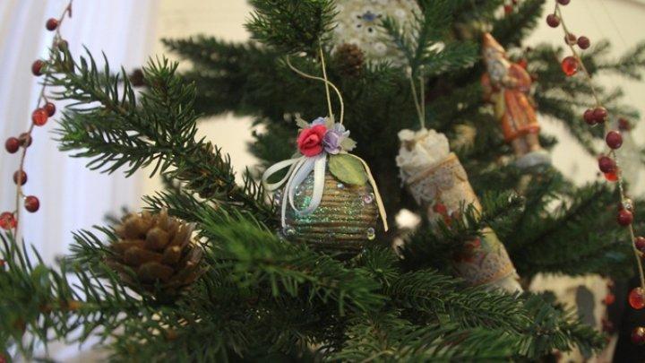 Видео: Хулиган превратил новогоднюю елку в подъезде в боксерскую грушу
