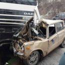 30-летний мужчина погиб в аварии, врезавшись в фуру на Петриканах