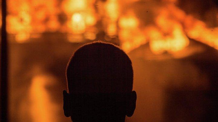 В Румынии загорелось Управление общественного транспорта: сгорели 15 из 24 автобусов