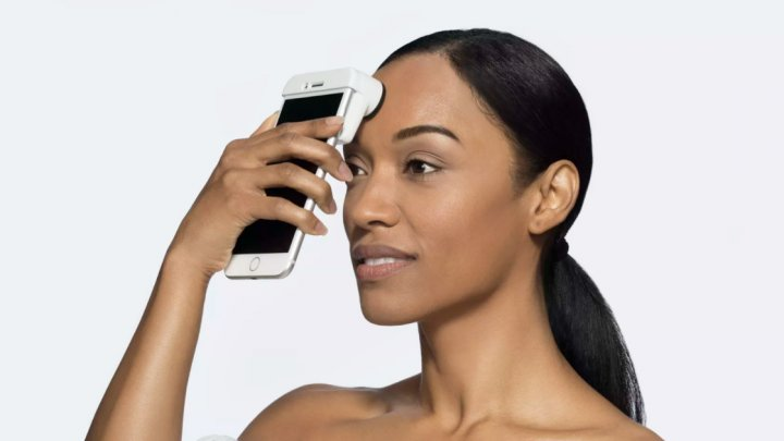 Бренд косметики выпустил сканер кожи для iPhone