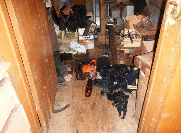 Уральская резня бензопилой: пьяный лесоруб на Рождество лишил товарища головы (фото)