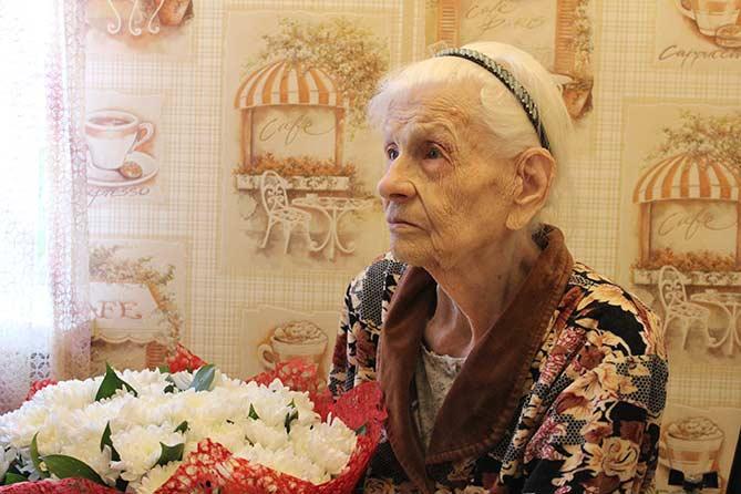 Поздравляем Эльзу Карловну Филиппову со столетним юбилеем!