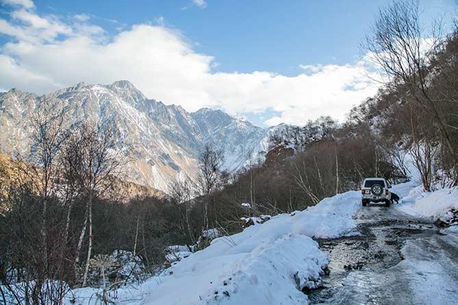 Путешествие в Грузию в зимний период