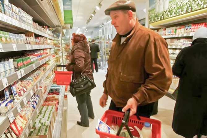 Тольятти: Розничные цены в январе 2018 года