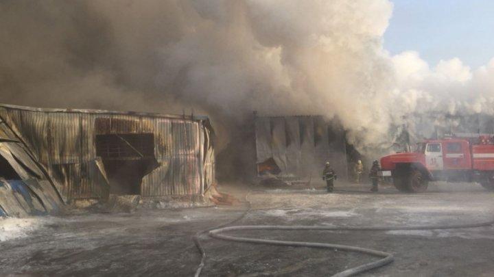 Пожар на обувной фабрике в Новосибирске: погибло десять человек
